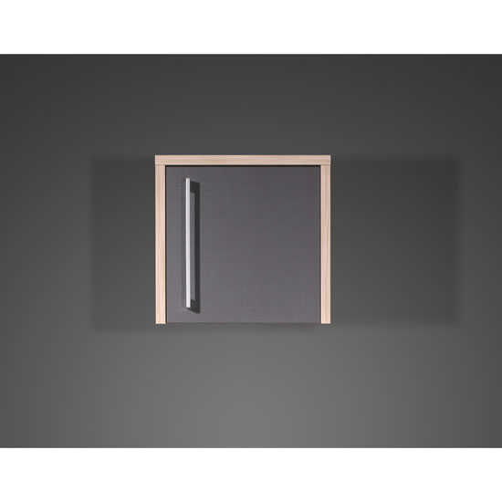 View Duo anthracite office cabinet
