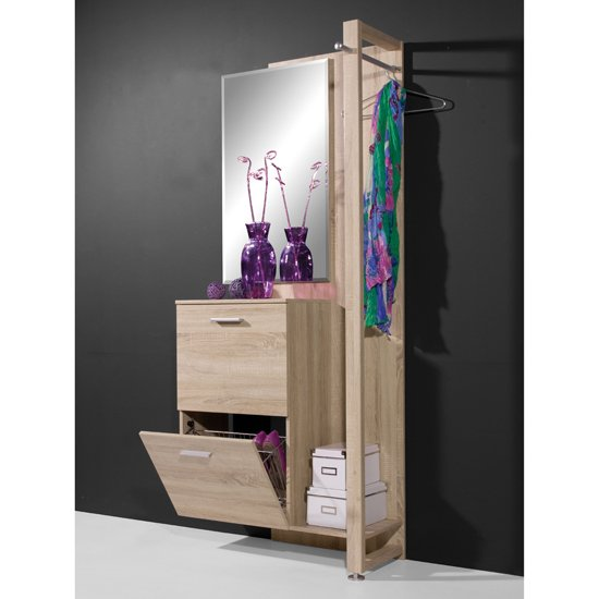 View Contemporary hallway stand in canadian oak