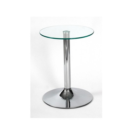 View Drew lamp table in clear glass top