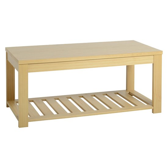 View Isabella coffee table in oak