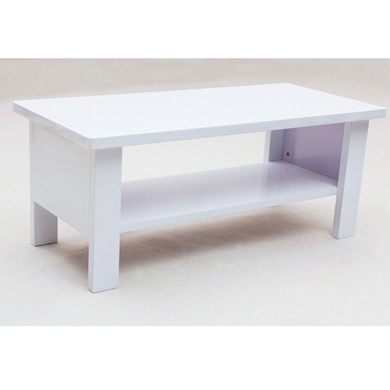 View Peru rectangular high gloss coffee table