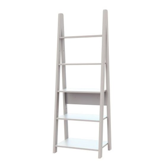 View Paltrow bookcase in white with ladder style