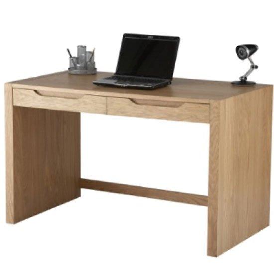 View Splice home office computer desk in oak