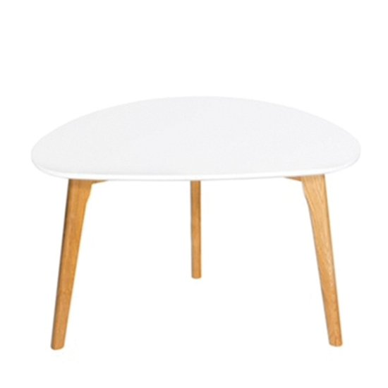 View Astro wooden coffee table in white
