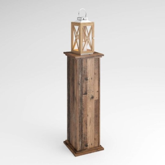 View Bootes wooden lamp table in canadian oak
