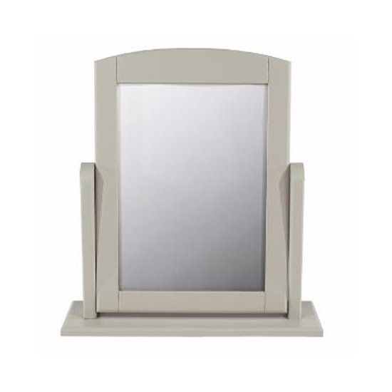 View Brora single dressing mirror with grey frame