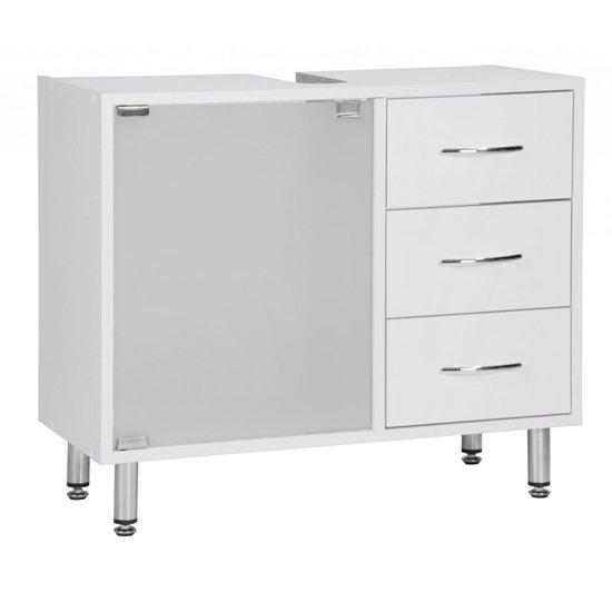 View Cobham bathroom vanity cabinet in white