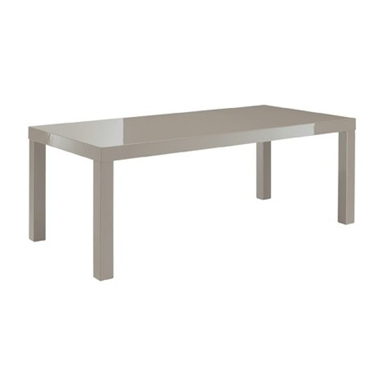 View Curio stone high gloss finish coffee table
