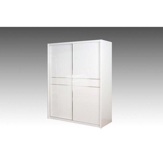 View Laura sliding wardrobe with high gloss 2 doors