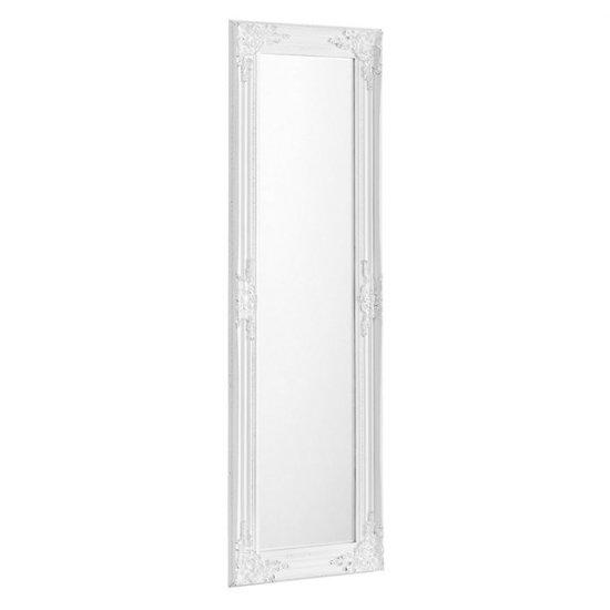 View Palais dressing mirror in white frame