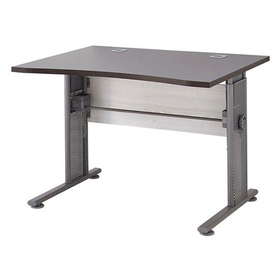 View Profi small laptop desk in larch and havana oak