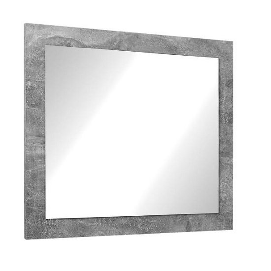 View Varna wall mirror in structure concrete
